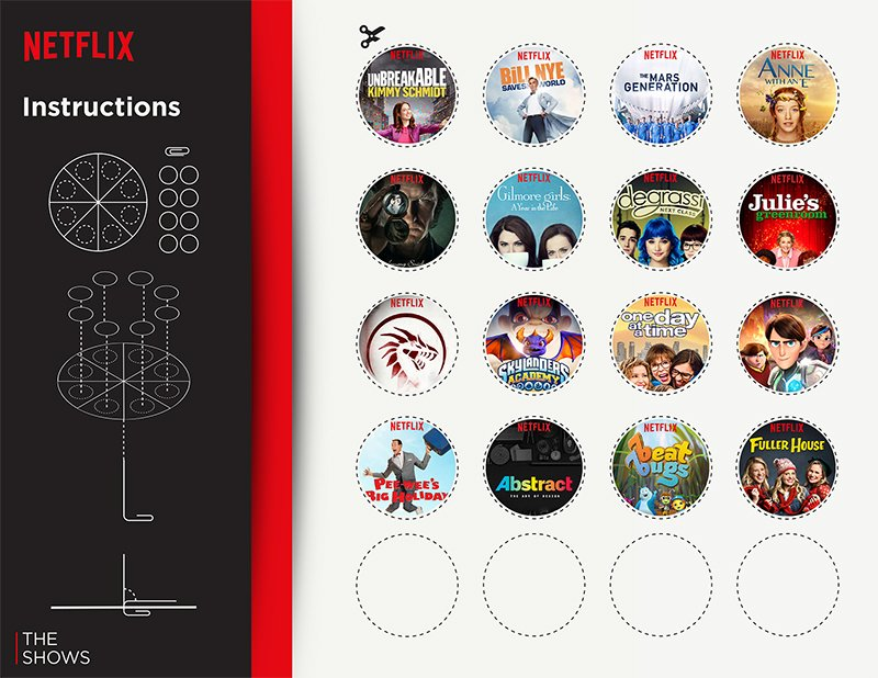 Netflix Spinner Instructions to Binge Watch New TV Shows