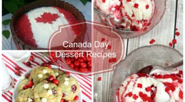 Canada Day Dessert Recipes