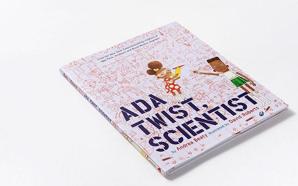 Ada Twist Scientist picture book for STEM girls.