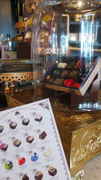 Chocolates for sale at Toothsome Chocolate Shop