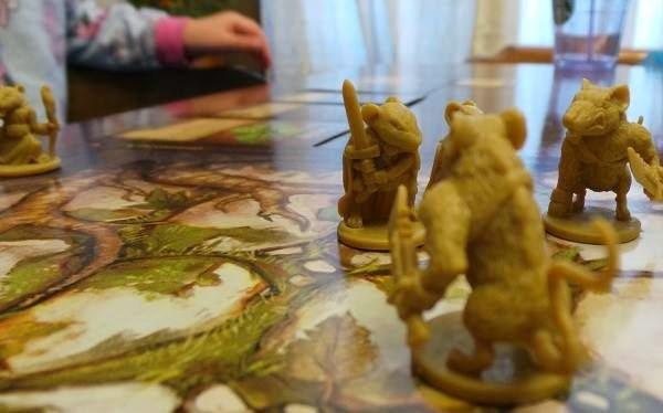 Mice & Mystics is a great games for kids ages 7 and up.