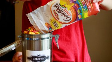 Settling the Back to School Jitters with the Goodness of Goldfish