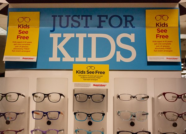 Kids See Free, Free Eyeglasses at Loblaws