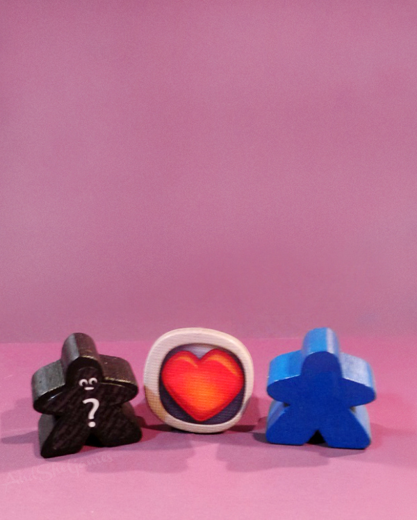 Meeple valentine for board game lovers.