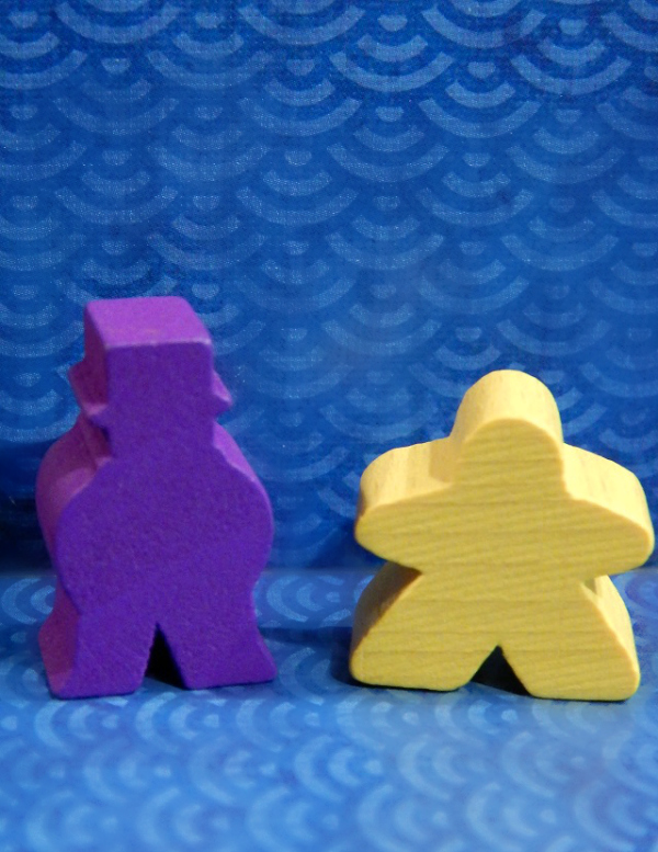 Meeple Valentines for geeks and gamers.